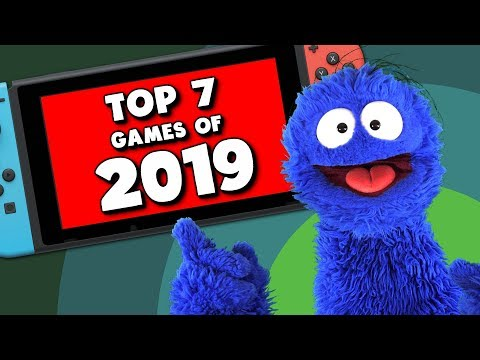My Top 7 Switch Games Of 2019