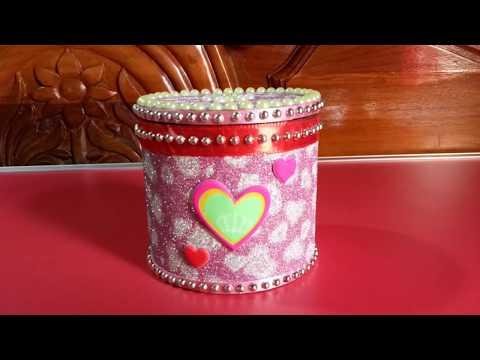 DIY - craft. How to Make Jewellry Box. Organizer For Jewellry | organization gifts