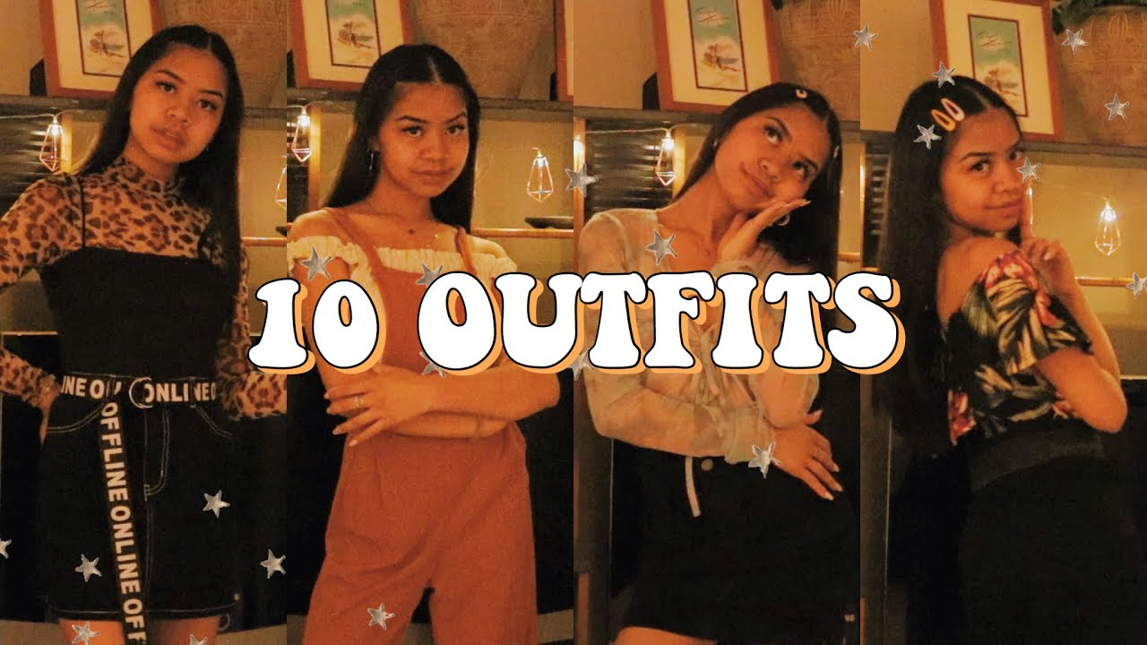 SUMMER OUTFIT IDEAS 2019 | OhHeyitsJ ♡ 2