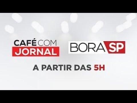 [AO VIVO] CAFÉ COM JORNAL E BORA SP - 22/10/2019