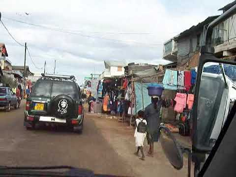 Town of Ilakaka, sapphire boomtown, Madagascar on May 15, 2013