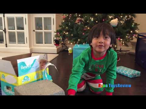 Thumbnail: KID Ryan Open Christmas Presents Early Kids Prank! Trade McDonald Foods for Toys with Santa