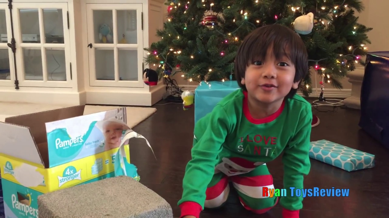 BAD KID Ryan Open Christmas Presents Early Kids Prank! Trade ...