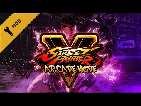 Long Play: Street Fighter V - Arcade Mode ver. 0.1e (mod)