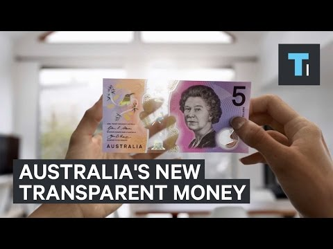 Australia's new money is literally transparent