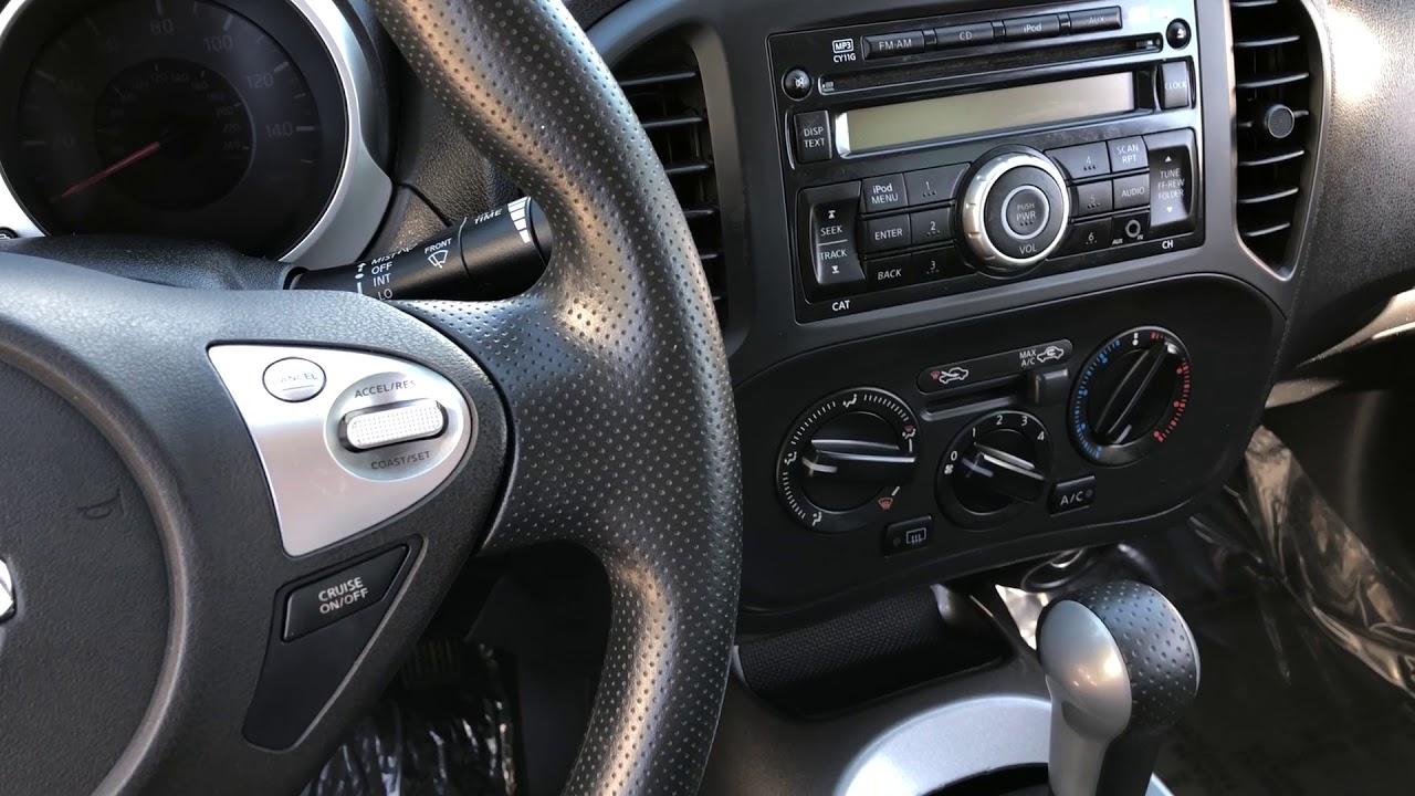 Nissan Juke air bag module location