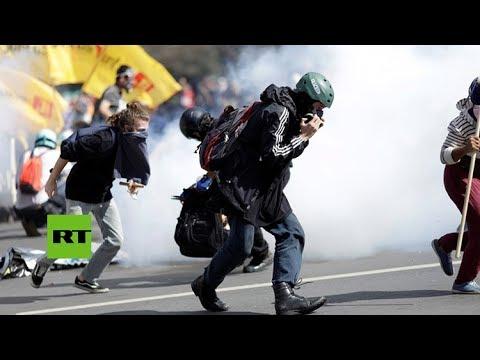Brasil despliega tropas y evacúa ministerios por destructivas protestas contra Temer