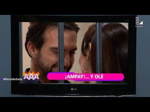 Pensión Soto - Episodio 6: Antonio Pavón y Maya protagonizan tremendo ampay - 25 de junio del 2017