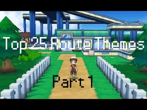 Top 25 Pokémon Route Themes - Part 1 (25-11)