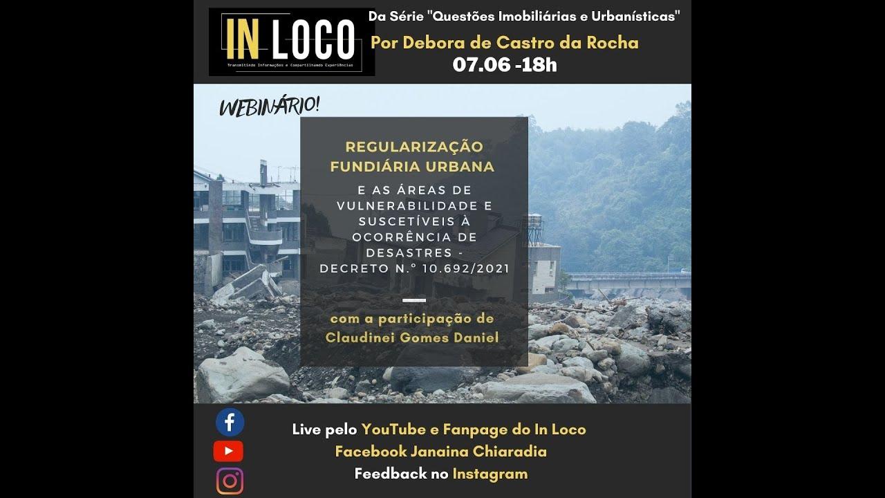 REGULARIZAÇÃO FUNDIÁRIA URBANA E AS ÁREAS DE VULNERABILIDADE E SUSCETÍVEIS À OCORRÊNCIA DE DESASTRES