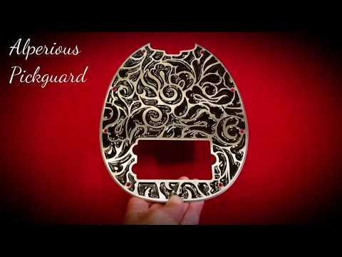 Musicman Stingray 4H Pickguard (Alperious Exotic Design) by Alperious Pickguard