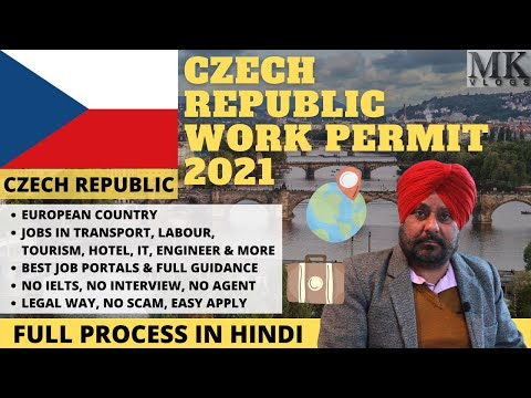 CZECH REPUBLIC Work Permit 2021   Get CZECH REPUBLIC Work Visa 2021   CZECH REPUBLIC JOBS 2021