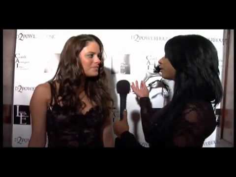 Lauren Elaine UNMASKED Natalia Flores Interview at LA Fashion Week