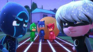 PJ Masks en Español - Episodio 13 - ¡Más despacio, Gatuno! - Dibujos Animados