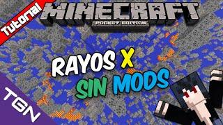 Minecraft Pocket Edition 0.13.1-Rayos X sin Mods Español