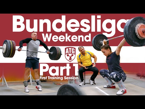 Rebeka Koha & Ritvars Suharevs Bundesliga Weekend Part 1 First Training Session after Arrival