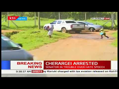Breaking: Nandi Senator Samson Cherargei arrested over hate speech