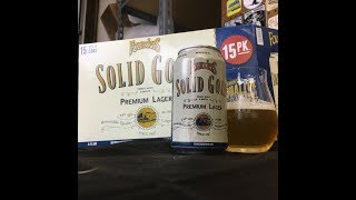 """Founders Solid Gold Premium Lager (Craft """"Macro-Style"""" Lager!) Review - Ep. #1532"""