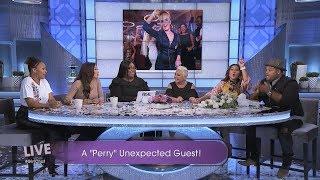 Adrienne Houghton, Jeannie Mai, and Katy Perry: Wedding Crashers