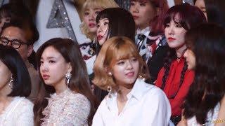 180110 혁오 무대 보는 슬기 Seulgi 레드벨벳 Red Velvet @골든디스크 어워즈 4K 60P 직캠 by DaftTaengk