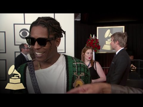 A$AP Rocky | Red Carpet | 58th GRAMMYs