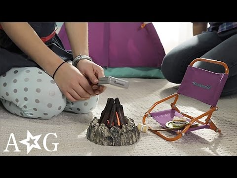 American Girl Adventure Camping Collection | Product Demo | @American Girl