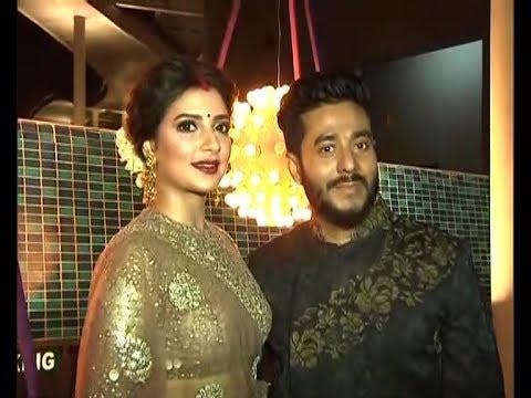 চোখধাঁধানো রেসিপশন।Raj Subhasree Wedding Reception Tolly Artist