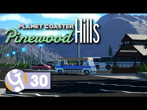 The Great Parking Lot Overhaul | Pinewood Hills | Let's Play Planet Coaster #30