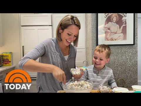 Cooking With Cal: Dylan Dreyer And Her Son Make Apple Salad | TODAY