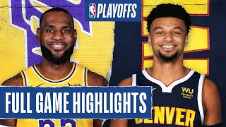 LAKERS at NUGGETS | FULL GAME HIGHLIGHTS | September 24, 2020