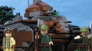 1940 Lego World War Two Battle for France at Stonne