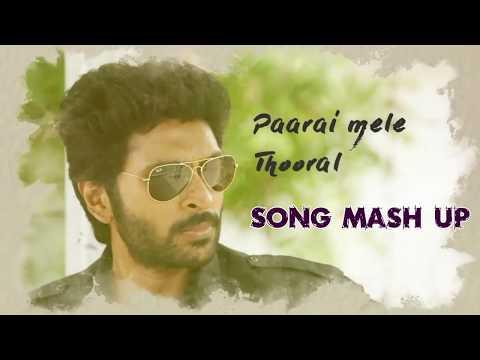Sathriyan Paarai mele Song Mashup_ Vikram Prabhu Manjima Mohan U1 Musical