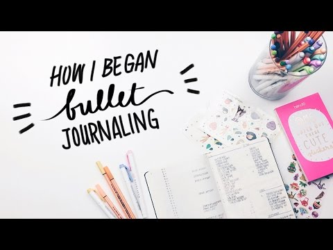 Challenge No. 2: four weeks of Bullet Journalling