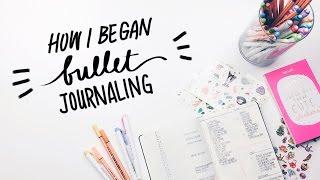 Bullet Journaling for Beginners (how I started my bullet journal) | WITHWENDY