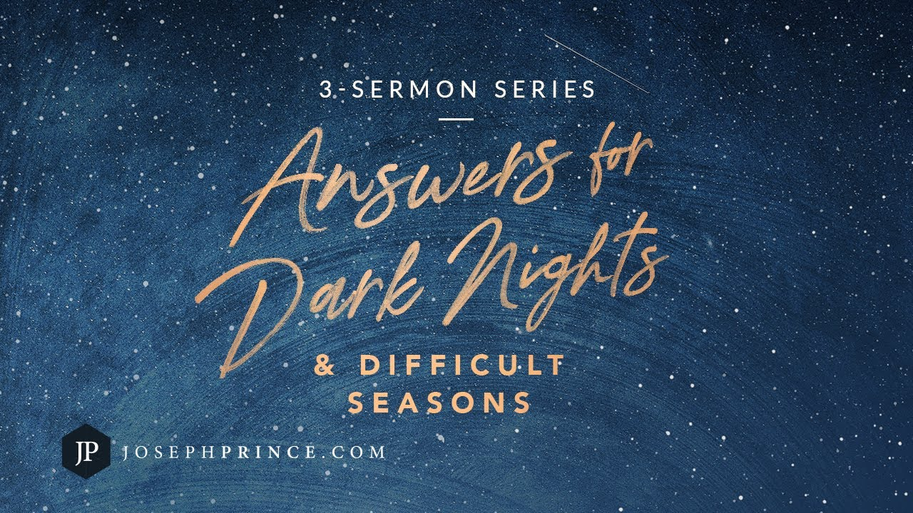 Answers For Dark Nights And Difficult Seasons Trailer | Joseph Prince