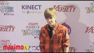 JUSTIN BIEBER at 4th Annual Power of Youth Event Arrivals