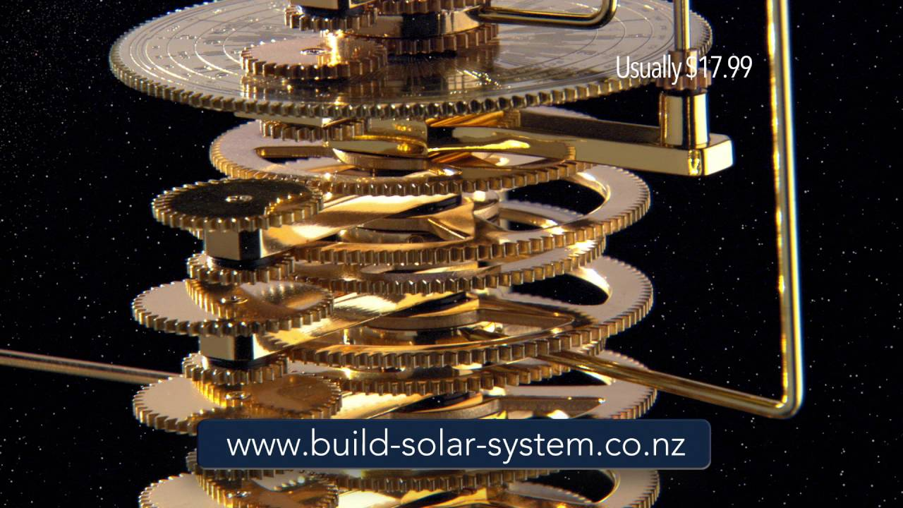 Build A Model Solar System Nz Youtube