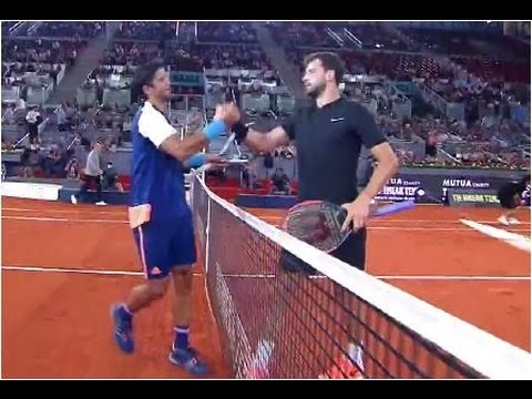 Grigor Dimitrov vs. Fernando Verdasco [10-8] Tie Break Tens Madrid (SF) 04.05.2017.