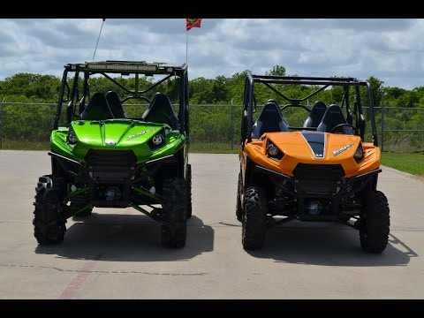 "2014 Kawasaki Teryx4 LE with 30"" Mudder In-Law Tires"