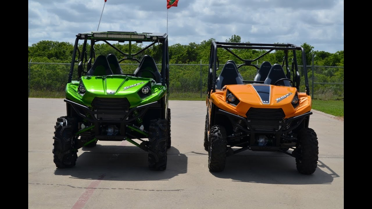 Kawasaki Teryx4 Le With 30 Mudder In Law Tires