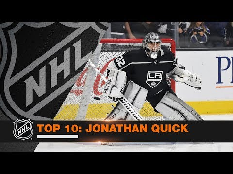 Top 10 Jonathan Quick saves from 2017-18