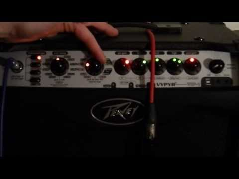 Peavey VYPYR VIP 1, Guitar Amps miked, no talk, HQ Audio