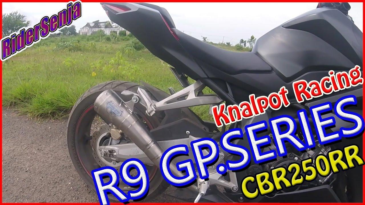 Knalpot R9 Gp Series Cbr 250 Rr Test Sound Full Sistem Austin Stainless Honda Cbr250