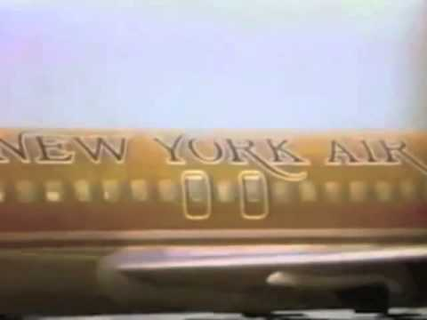 New York Air TV Commercial, 1980's