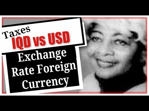 IQD To USD Exchange Rate Foreign Currency  Iraqi Dinar Exchange Rate