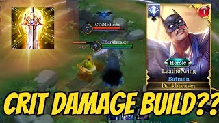 BATMAN CRIT DAMAGE BUILD (FULL DAMAGE) 😲 | AoV | 傳說對決 | RoV | Liên Quân Mobile | 펜타스톰