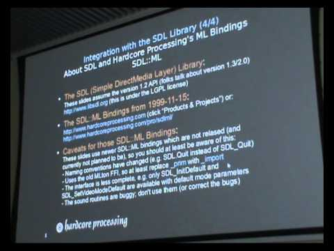 ML workshop 2012.  Anoq of the Sun: Demo of CeX3D Inverse and Standard ML technology