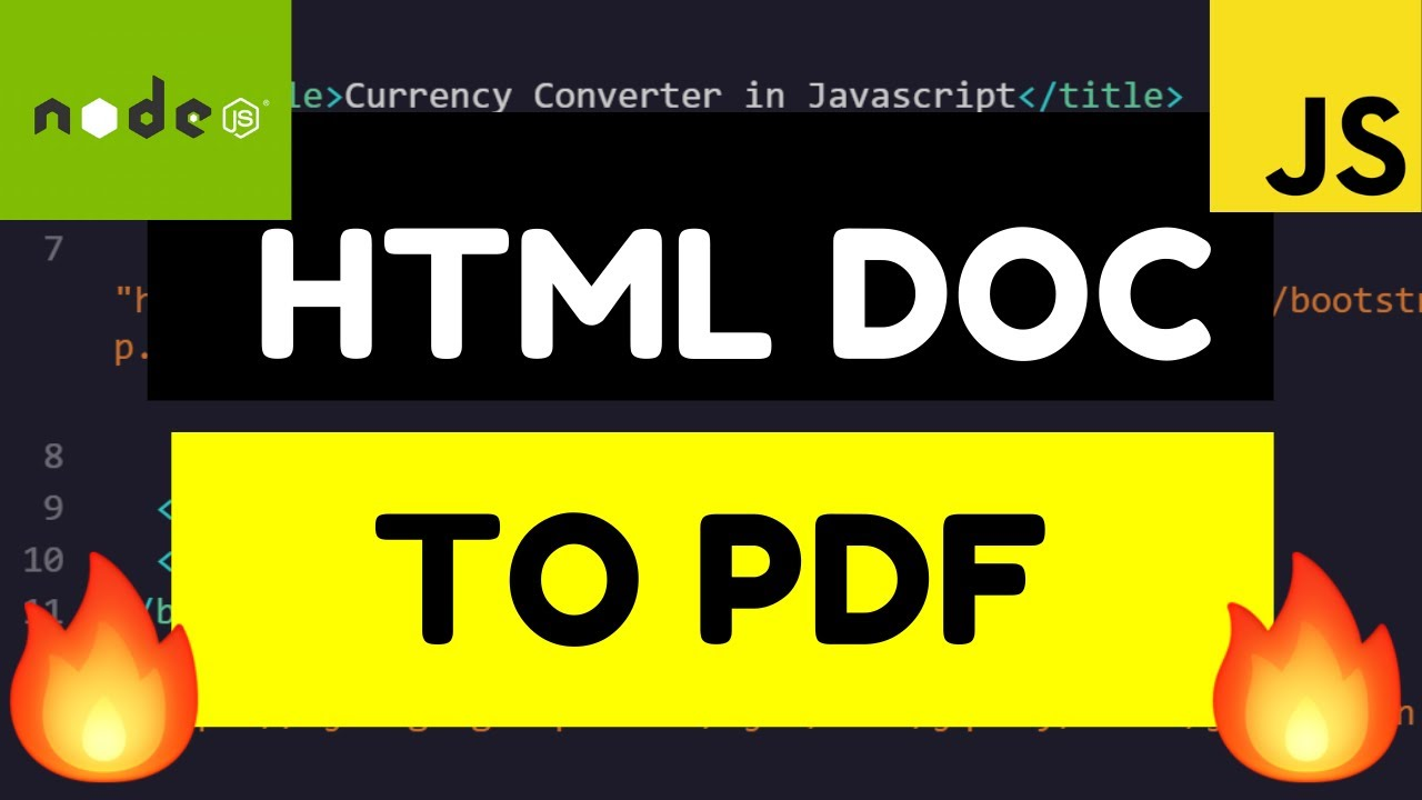 How to Convert HTML Documents to PDF Documents Online Free Tool For Beginners