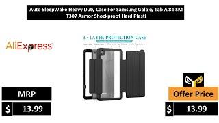 Auto SleepWake Heavy Duty Case For Samsung Galaxy Tab A 84 SM T307 Armor Shockproof Hard Plasti