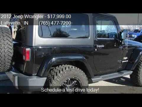 2012 Jeep Wrangler Sahara 4x4 Automatic Fuel Rims Nitto Tire